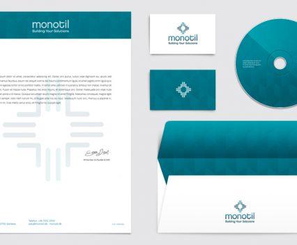 monotil-dk-web-design-it-server-udstyr-leverandoerer-Identitet, profil design, logo design. Design af brevlinje, salgsmateriale og webdesign + nyhedsbreve