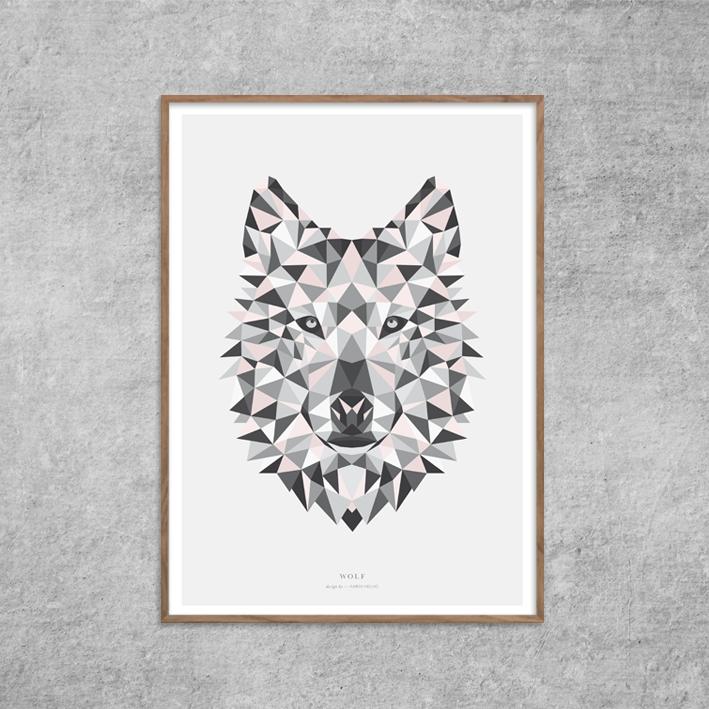 Plakat_Ulv_Wolf-grafik-Rosa-nude-poster