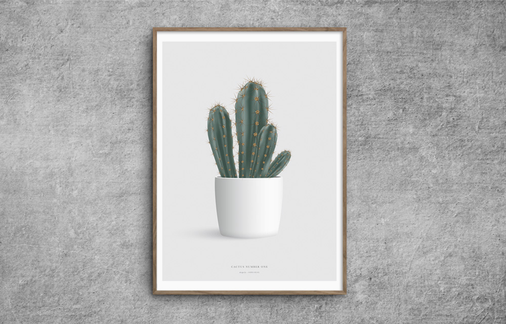 Cactus_katus_plakat_poster_number_one_red-zone.dk