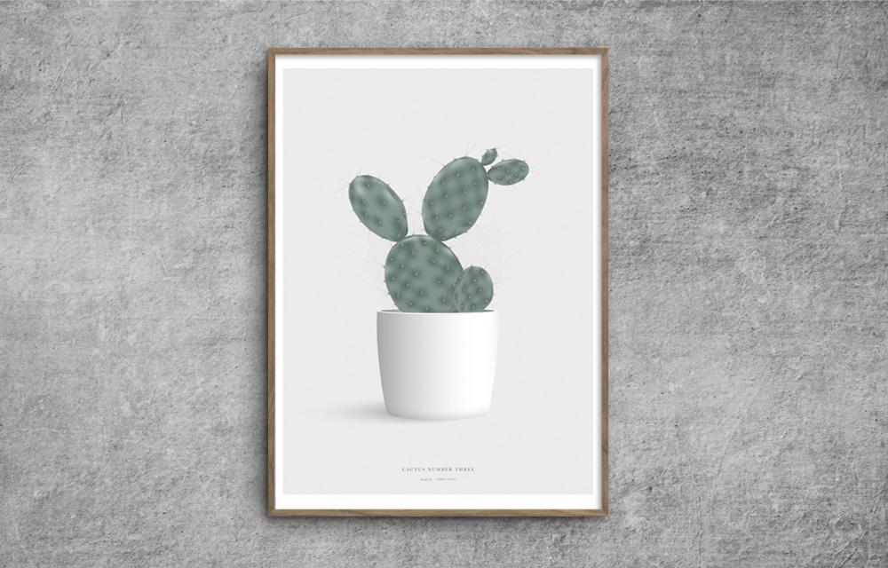 Cactus_katus_plakat_poster_number_three_red-zone.dk