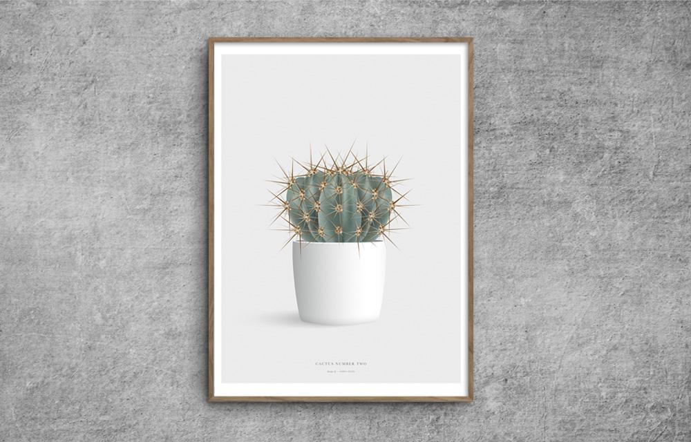 Cactus_katus_plakat_poster_number_two_red-zone.dk
