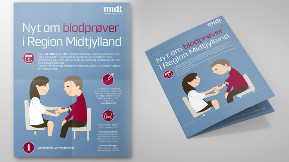 Region-Midtjylland-informations-materiale-Blod-Proevetagning