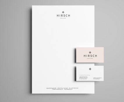 Hirsch smykker, Aarhus, design, identitet, responsive web design