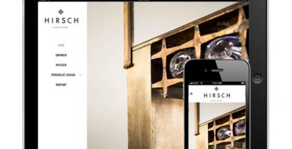hirsch_jewellery_responsive_webdesign_aarhus