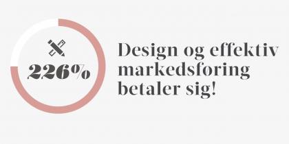 Design og effektiv markedsføring betaler sig!