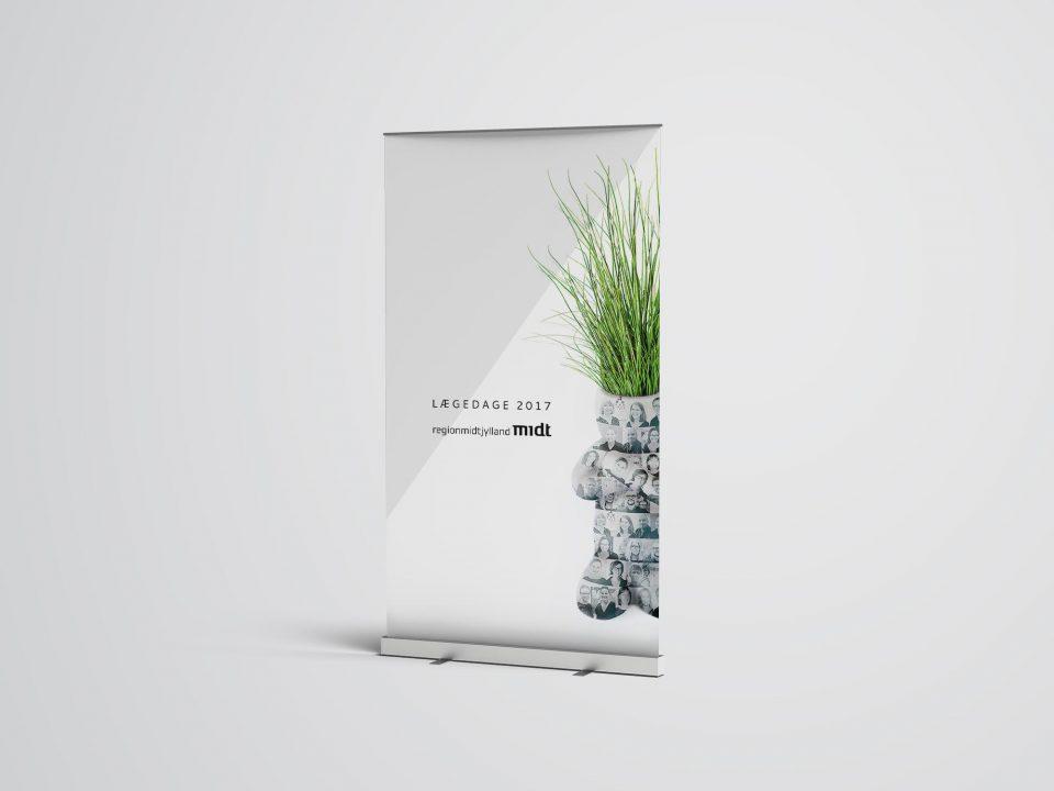 Lægedage2017_Region_MidtJylland_20 siders design af publikation