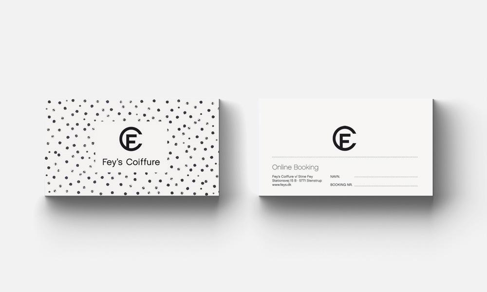feys_frisør_brand_logo_design_visuel_identitet