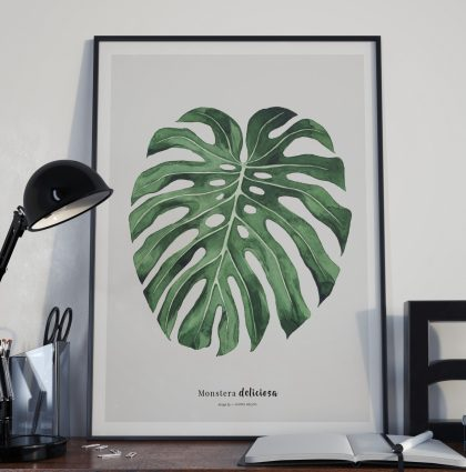 Botaniske plakater – Poster design