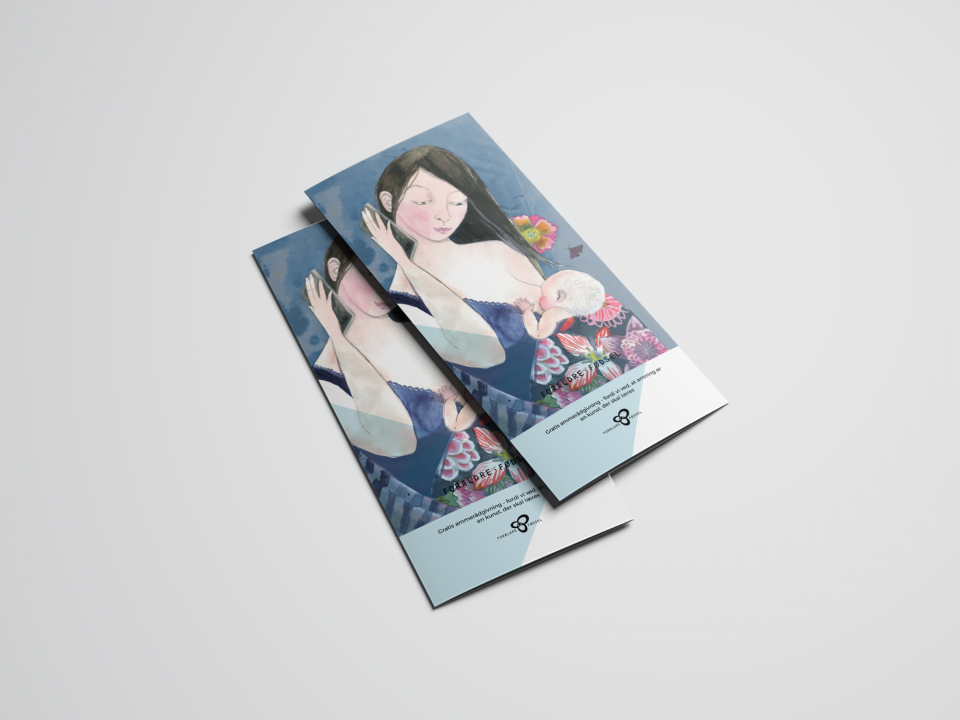 Forældre og Fødsel, informations materiale, Folder og plakter