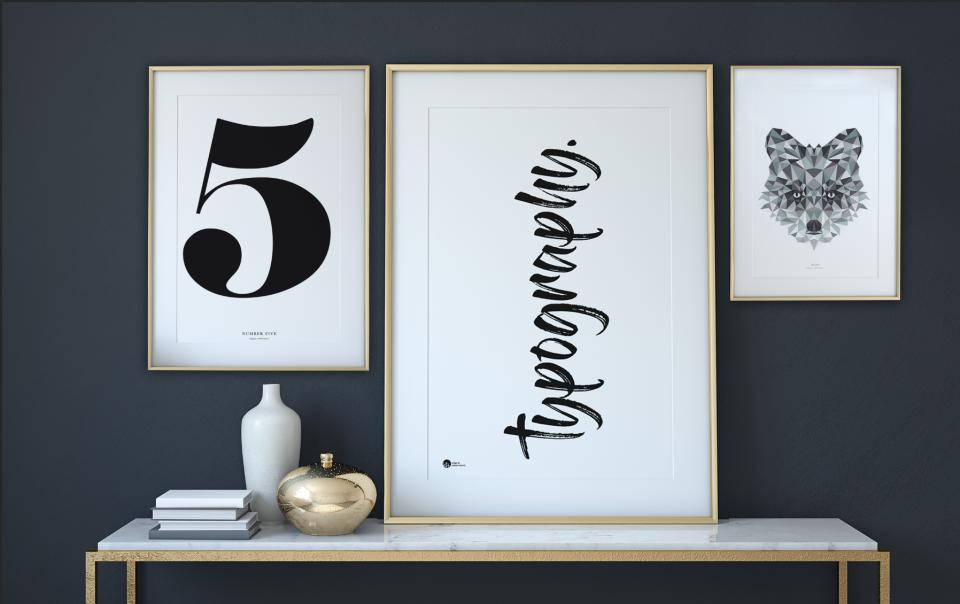 Typografiske plakater, typografi, inspiration, typografikske billeder, billeder med teskt, citater, staement_2