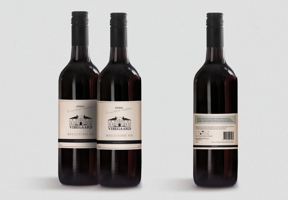 Vibegaard_Mousserende Vine_Limited_edition_Deluxe_vin