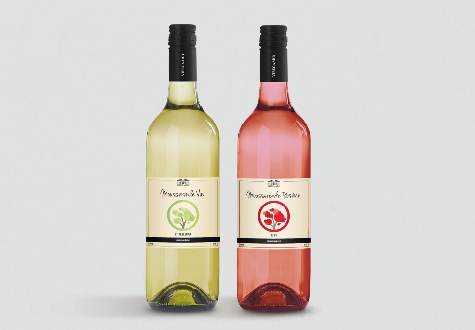 Vibegaard_Mousserende Vine_Ribs_Stikklesbær_Deluxe_vin