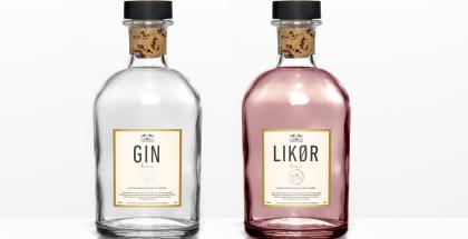 Vibegaard lancere en lækker nyhed Gin og likør Gin og Likør med smag af enebær, kardemomme, appelsin, citron og aronia bær.